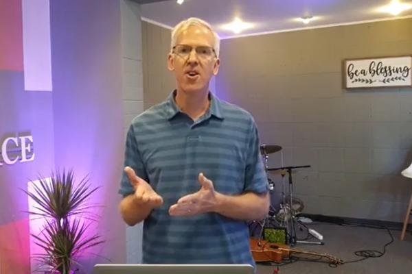 Don Reynard Preaching